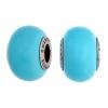 Swarovski Bead 5890 Becharmed 14mm Crystal Pearl Turquoise